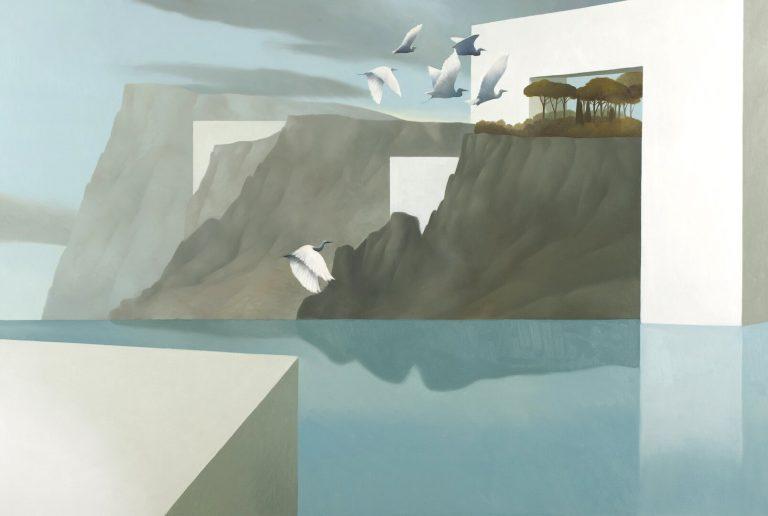 Arcipelago degli aironi Olio su tela 100x150 cm 2010