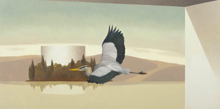 Dune della laguna Olio su tela 50x100 cm 2011