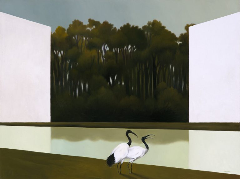 La foresta svelata - Olio su tela, 60x80 cm, 2016