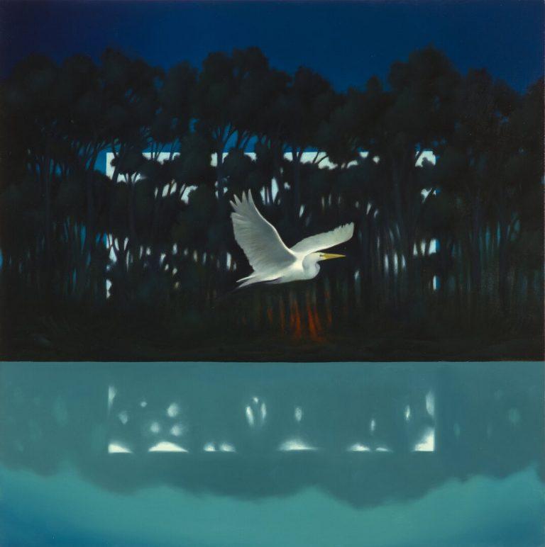 La notte disvelata Olio su tela 50x50 cm 2016