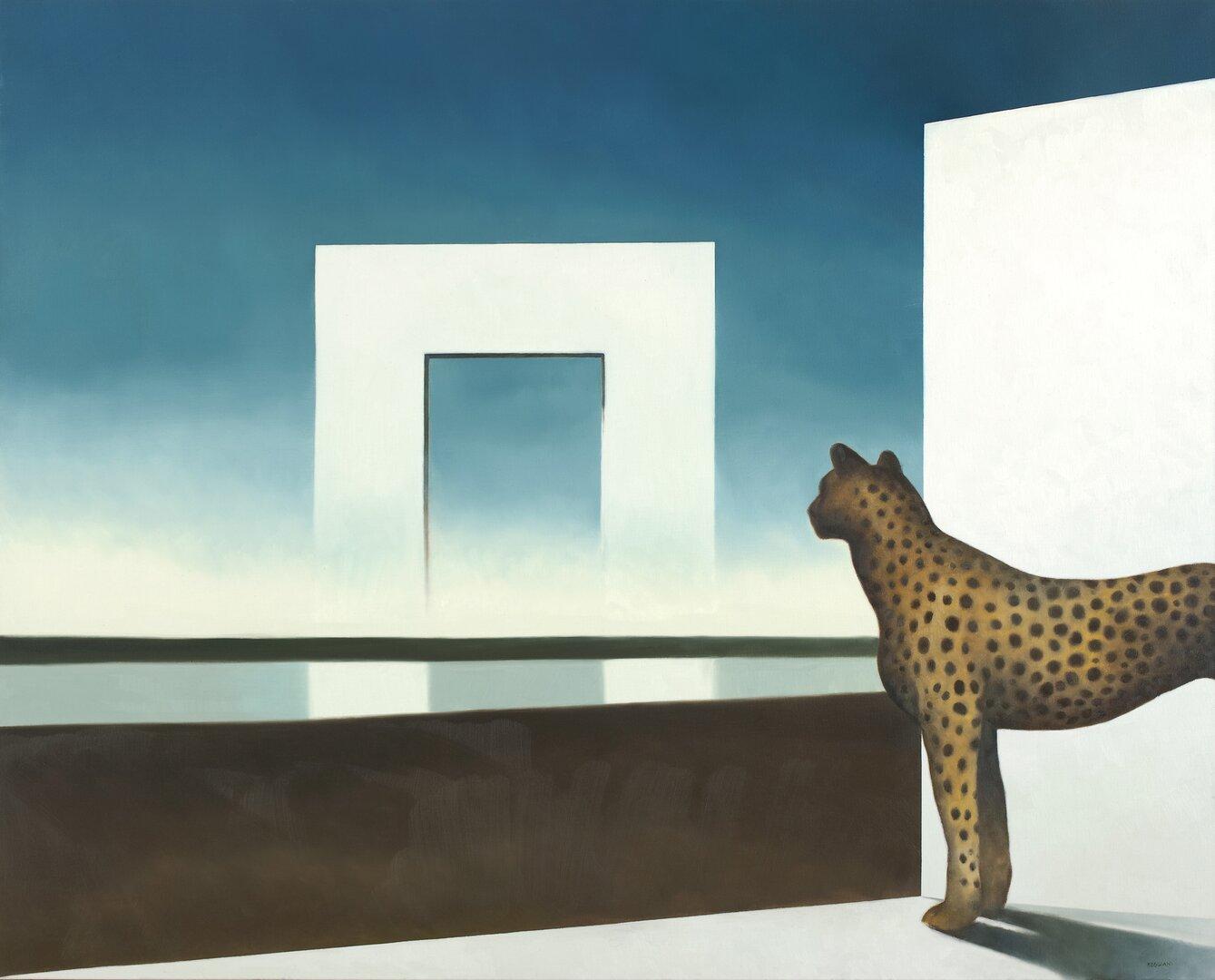 L'arco dell'attesa - Olio su tela, 80x100 cm, 2010