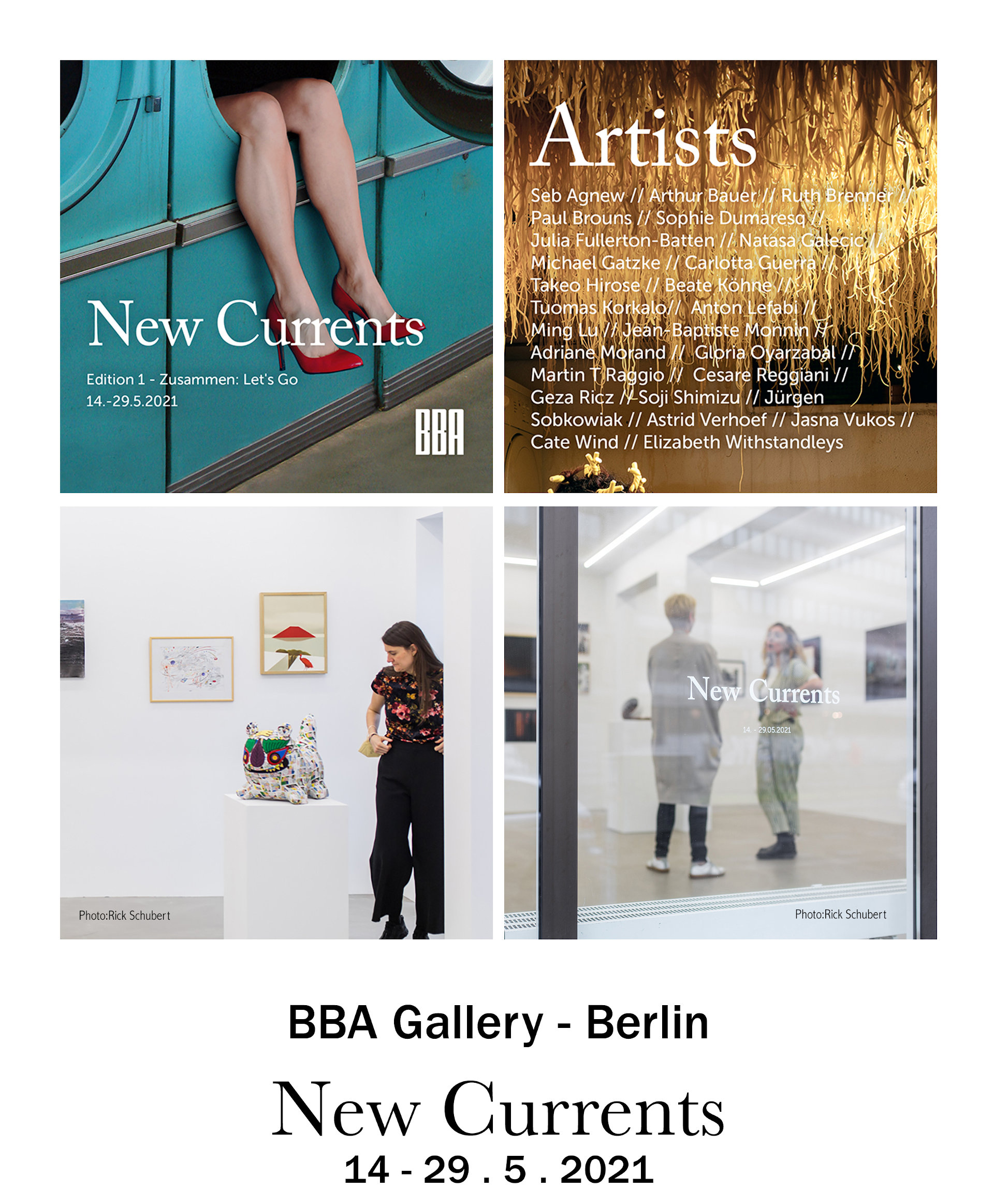 BBA Gallery – Berlin – New Currents